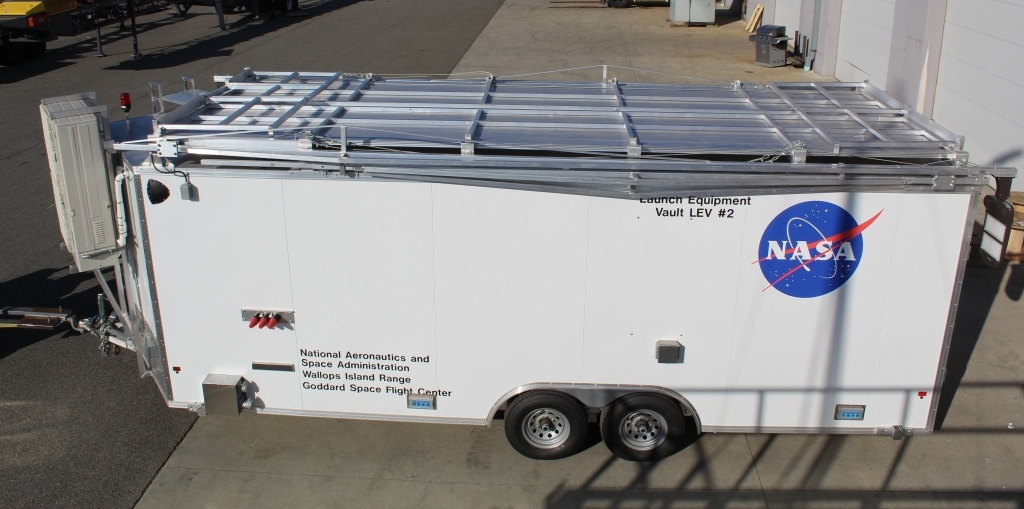 Atlas Electric Launch Pad Support Trailers