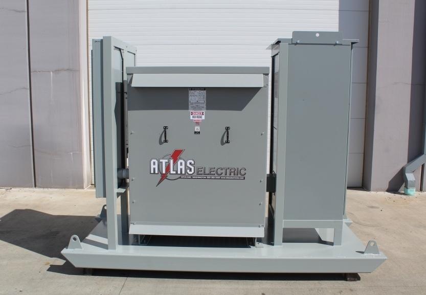 Atlas Electric Portable Mini Substation