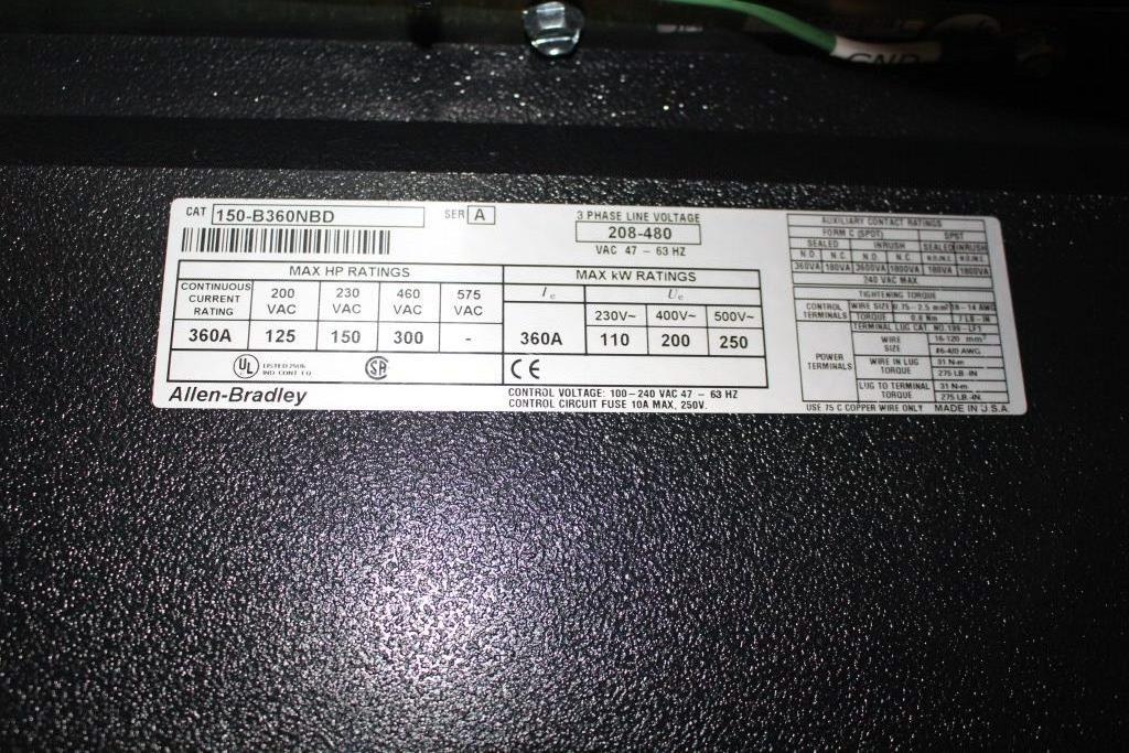 RECONDITIONED Allen Bradley SMC Dialog Plus 300 HP