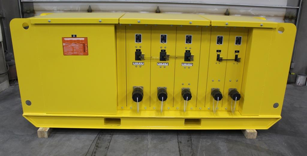 50629 - Portable Skid Mounted 600 Amp 480 Volt Power Distribution Center