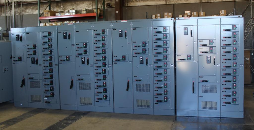 Allen Bradley Centerline 2100 Motor Control Center, 1600 Amp, 75 vertical sections