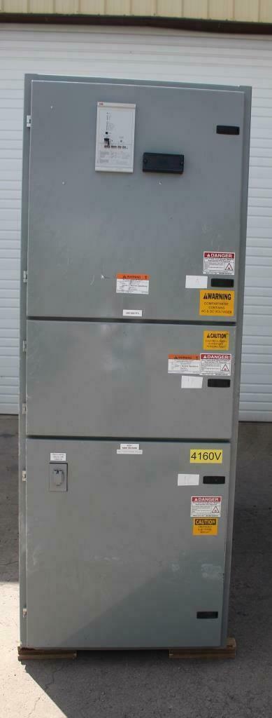 ABB AMVAC Metal Clad Switchgear 1200 AMP 5 KV