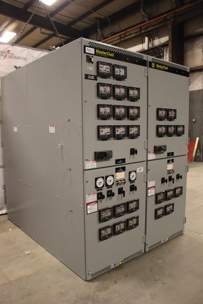 Square D MasterClad 1200 Amp 5 KV Metal Clad Switchgear