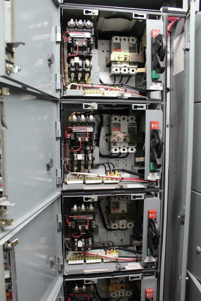Rock Crushing Plant Motor Control Van