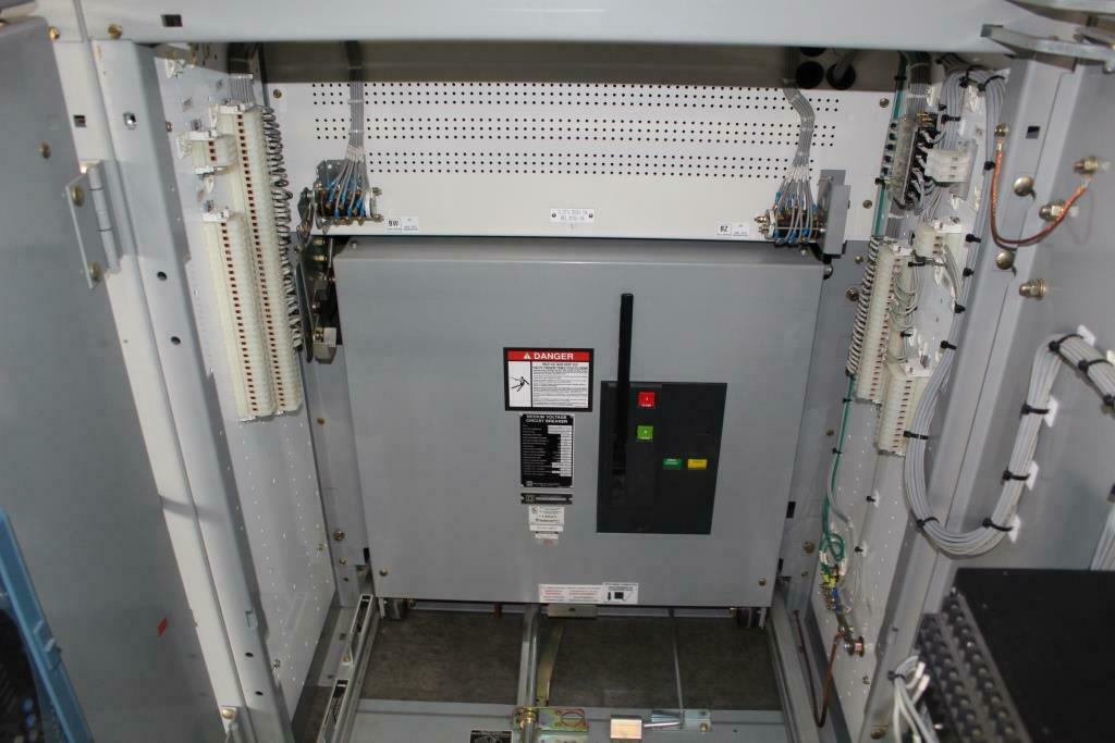 NEW SURPLUS Square D MasterClad 15 KV Metal Clad Switchgear 1200 Amp