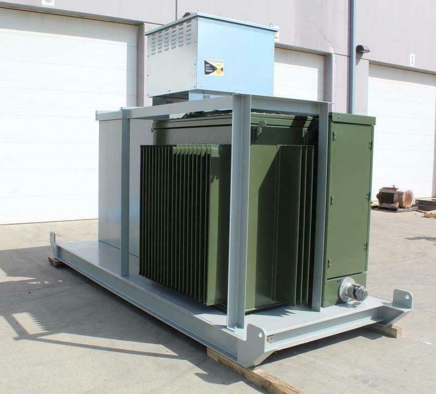 1500 KVA Portable Mine Duty Substation