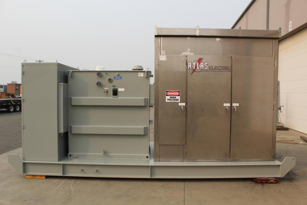 2500 KVA Portable Mine Duty Substation